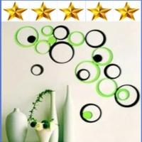 Jual Hiasan dinding / 3d wall sticker / 1 set 5 pcs Murah