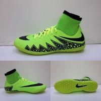 Sepatu Futsal - Nike Hypervenom Boots Green Black - GO