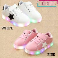 Sepatu Anak LED Converse Import Termurah