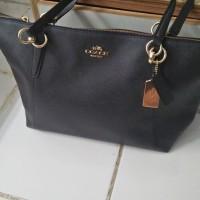 Tas Coach Ava Black Leather F57526 Original USA