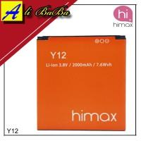 Baterai Handphone Himax Polymer Y12 M2 Batu Himax Y12 Batre HP Himax