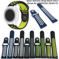 Terlaris STRAP SAMSUNG GEAR S3 FRONTIER Sport Silicone Strap Band VO