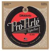 Senar gitar klasik D'addario Pro Arte EJ45 clear nylon / Classic EJ 45