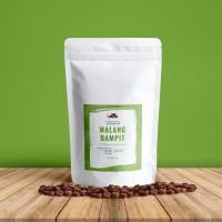 Jual Kopi Robusta Dampit 250 gr - Whole Bean Coffee Murah