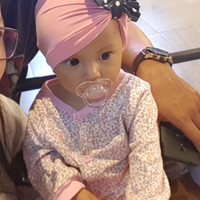 Turban baby pita polkadot