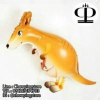 Jual Balon Foil Air Walker Animal Kangaroo / Airwalker Binatang Kanguru Murah