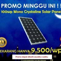 Harga Panel Surya 100 Wp Hargano.com