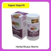 [ORIGINAL] Kapsul Goputih herbal khusus wanita dewasa