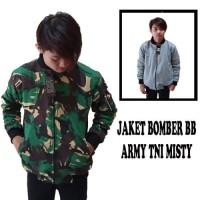 Super Hot! JAKET BOMBER BB ARMY TNI MISTY BUKAN PARASUT