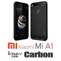 Xiaomi Mi A1 / Mi 5X Ipaky Carbon Case / Casing Handphone / Sarung Hp