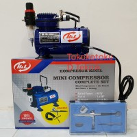 Kompresor Mini Compressor Complete Set With Air Brush H&L