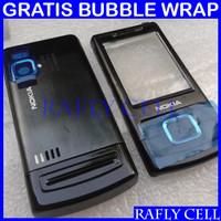 Casing Nokia 6500 Slide 6500s Fullset Depan Belakang HP Jadul Lama