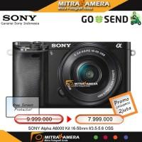 kamera sony alpha a6000 kit 16-50mm (GARANSI RESMI SONY INDONESIA)