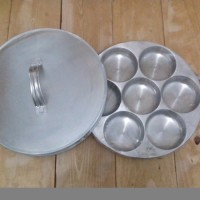 Cetakan Loyang Martabak mini Kue Lumpur Dorayaki Bika Ambon Snack Ma