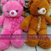 (Murah) Boneka Teddy Bear Pita Rocky Lucu