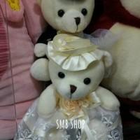 Boneka Teddy Bear Wedding Import/Sepasang/Dapet Dua /Sweet Banget
