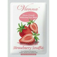 Harga vienna face mask strawberry souffle | Pembandingharga.com