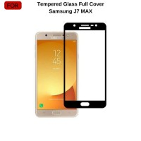 Samsung J7 Max Tempered Glass 3D Full Cover Full Cover