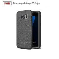 Case Leather Autofocus Samsung Galaxy S7 Edge Ultimate Experience