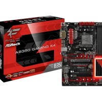ASRock Fatal1ty AB350 Gaming K4 (AMD B350,AM4,DDR4) AMD Raven Ridge