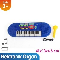 Mainan Musik Electronic Organ Musical Learning Keyboard Murah BO16B
