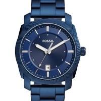 JAM TANGAN PRIA FOSSIL MACHINE BLUE FS5231 BLUE DIAL ORIGINAL