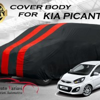 Body Cover 2 Warna Sarung Mobil 2 Warna - KIA PICANTO