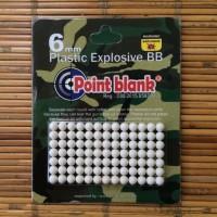 Point Blank - Plastic Explosive BB 6mm Peluru Gotri Petasan