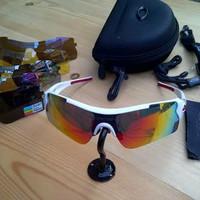 Kacamata sepeda oak ley magnum bisa pasang lensa minus