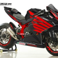 Decal Stiker CBR250RR BLACK RED WING HAYDEN 69 FULLBODY + Stiker Velg