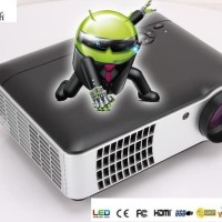 Proyektor DRB-A8 Led Android 4.2 Wifi Projector vs LED96 CL720 CL760