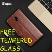 Casing Samsung J3 J5 J7 PRO 2017 Leather Kulit FLIP COVER WALLET HP