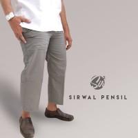Celana Panjang Pria - Celana Sirwal Pensil - Sirwal Modis LIGHT GREY