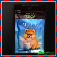 Snack Anjing Prama Milk 70G Pom Pomeranian Susu Dog Treat Gift Train