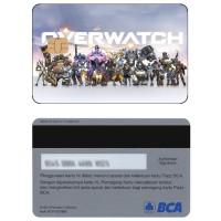 Over watch Kartu e-money E-toll Flazz BCA Custom
