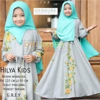 Gamis anak muslim Hilya kids ori naura