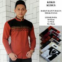 Koko Batik Kudus Lengan Panjang