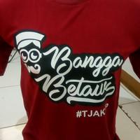 Baju Tshirt Pria Kaos Betawi Bangga