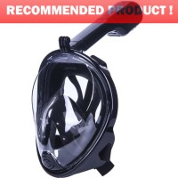 Masker Selam Full Face Snorkel Diving Size L/XL for Xiaomi Yi / GoPro