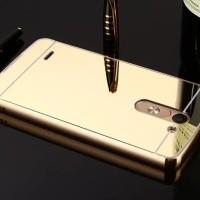 Case LG G3 Stylus Aluminium Bumper + Mirror Hardcover
