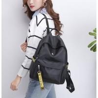 tas ransel hitam bagpack model korea jepang wanita supplier firsthand