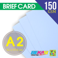Paket Kertas Gambar BC / Briefcard / Manila Uk. 42 x 59.4 cm ( A2 )