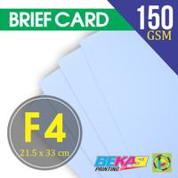 Kertas Brief Card / Karton BC / Kertas Gambar / Plotter Ukuran Folio