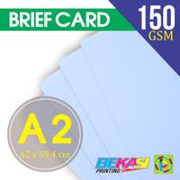 Kertas Gambar Teknik BC 150 gram / Briefcard Ukuran A2 (42 x 59,4 cm)