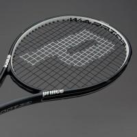 Raket Tenis Original Prince TeXtreme Warrior 100 Black White 7T42F605