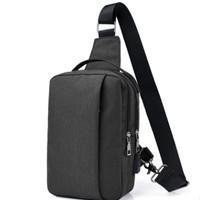 01 Tas salempang USB port charger,Smart Backpack Anti Air Anti Maling