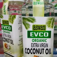 EVCO   Extra Virgin Coconut Oil   Minyak Kelapa Murni   Aswan 250ml