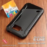 Samsung S6 Active Softcase Silikon Casing Wave Gel Soft Jelly