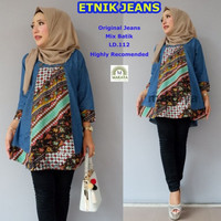 Harga baju wanita blouse tunik etnik jeans muslim modern modis lucu   antitipu.com