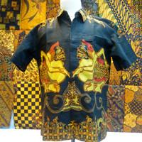Batik Kemeja Tulis Cabut Semar Ismoyo Trikot Pirukun Esklusif